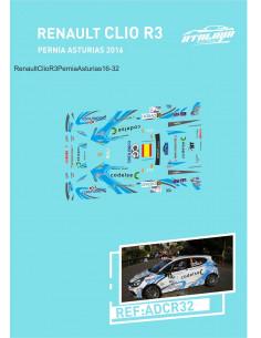 Renault Clio R3 Pernia Asturias 2016