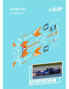 Alpine 450 Le Mans 2013