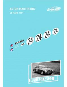 Aston Martin DB2 Le Mans 1951