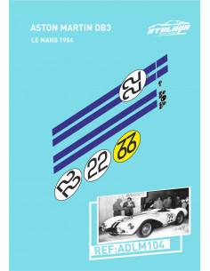 Aston Martin DB3 Le Mans 1954