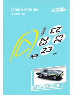 Aston Martin DB3 Le Mans 1955