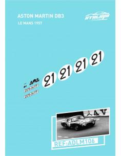 Aston Martin DB3 Le Mans 1957