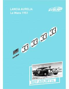Lancia Aurelia Le Mans 1951