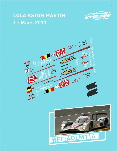 Lola Aston Martin Le Mans 2011