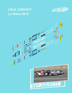 Lola Judd B11 Le Mans 2013
