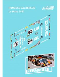 Rondeau Calberson Le Mans 1981