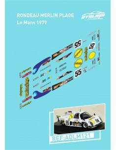 Rondeau Merlin Plage Le Mans 1979