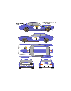 Ford Capri Glemser Tour Auto 1971