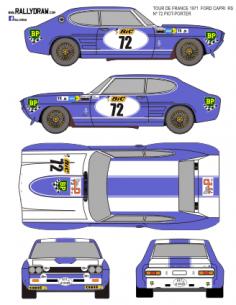 Ford Capri Piot-Porter Tour Auto 1971