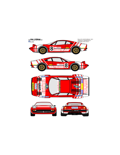 Ferrari 308 Andruet Costa Brava 1981