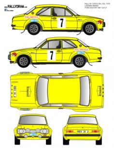 Ford Escort Mk1 Lezama Costa del Sol 1975