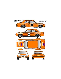 Ford Escort Mk1 Lezama Ourense 1975