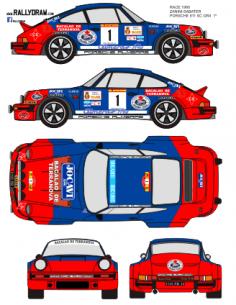 Porsche 911 Zanini Race 1980