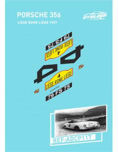 Porsche 356 Liege Rome Liege 1957