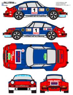 Porsche 911 Zanini Guilleries 1980