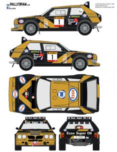 Lancia Delta S4 Tabaton Race 1986
