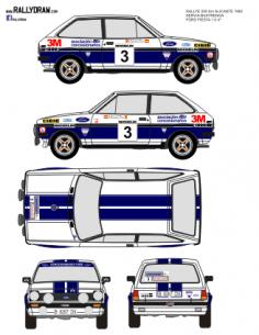Ford Fiesta Servia Alicante 1980