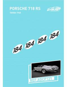 Porsche 718 RS Targa 1960