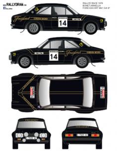 Ford Escort Mk1 Race Bonet 1976