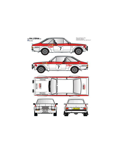 Ford Escort Mk2 lezama Race 1976