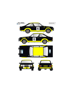 Ford Escort Mk2 Oliveras Fallas 1978