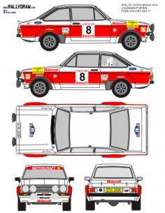 Ford Escort Mk2 Coleman Costa Brava 1979