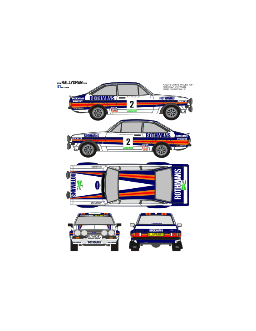 Ford Escort Mk2 Airikkala Corte Ingles 1981
