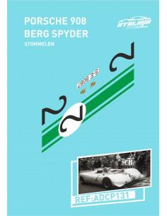 Porsche 909 Berg Spyder Stommelen