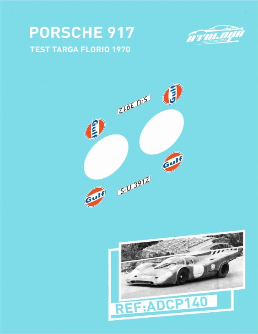 Porsche 917 Test Targa Florio1970