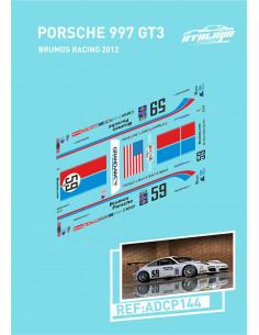 Porsche 997 GT3 Brumos Racing 2012
