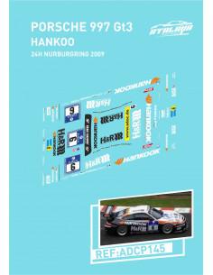 Porsche 997 GT3 Hankook 24H Nurburgring 2009