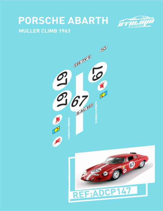Porsche Abarth Muller Climb 1963