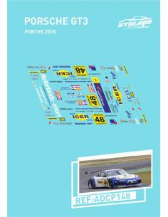 Porsche GT3 Fontes 2018