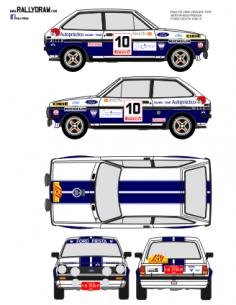 Ford Fiesta Servia 2000 Virajes 1979