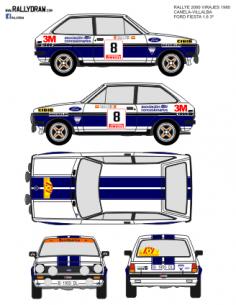 Ford Fiesta Canela 2000 Virajes 1980