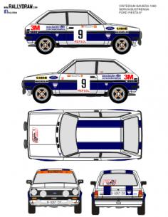 Ford Fiesta Servia Baviera 1980