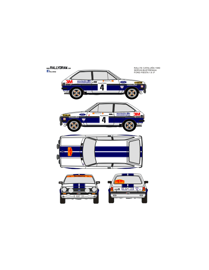 Ford Fiesta Servia Catalunya 1980