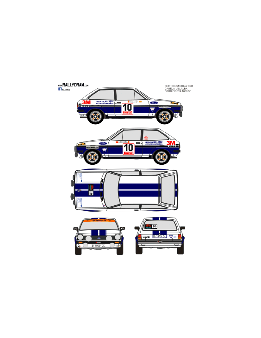 Ford Fiesta Canela Principe 1980