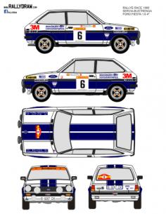 Ford Fiesta Servia Race 1980