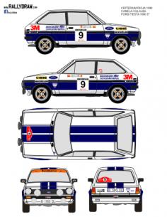 Ford Fiesta Canela Rioja 1980