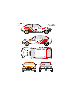 Ford Fiesta Servia Baviera 1981