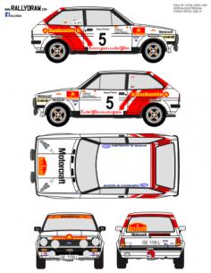 Ford Fiesta Servia Catalunya 1981