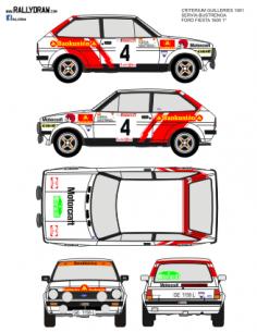 Ford Fiesta Servia Guilleries 1981