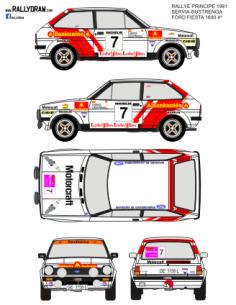 Ford Fiesta Servia Principe 1981