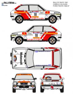 Ford Fiesta Canela Race 1981