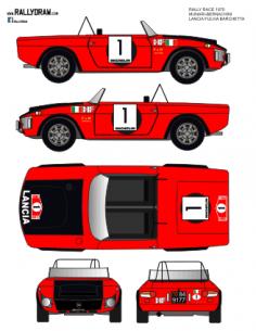 Lancia Fulvia Barchetta Munari Race 1970