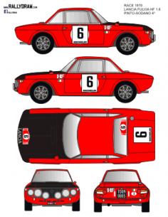 Lancia Fulvia Pinto Race 1970