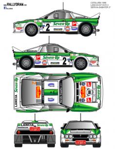 Lancia 037 Servia Catalunya 1986