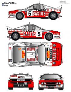 Lancia 037 Snijers Catalunya 1986