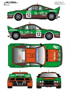 Lancia 037 Rodriguez Corte Ingles 1986